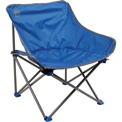 coleman kickback folding chair blue iwoot