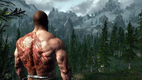 skyrim tattoo mod skyrim nexus mods and community