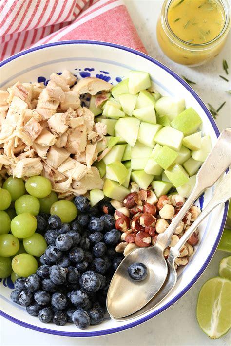 The Harvest Kitchen Crunchy Detox Salad by Blueberry Chicken Salad