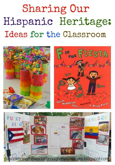 Hispanic Heritage Month Essay Topics by Discovering The World Through My S Our Hispanic Heritage Ideas For The