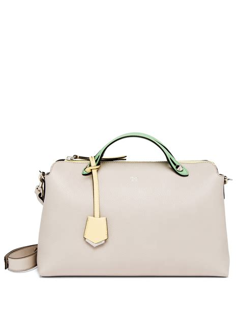 Fendi Btwby The Way Grey fendi by the way large multicolor satchel in gray lyst