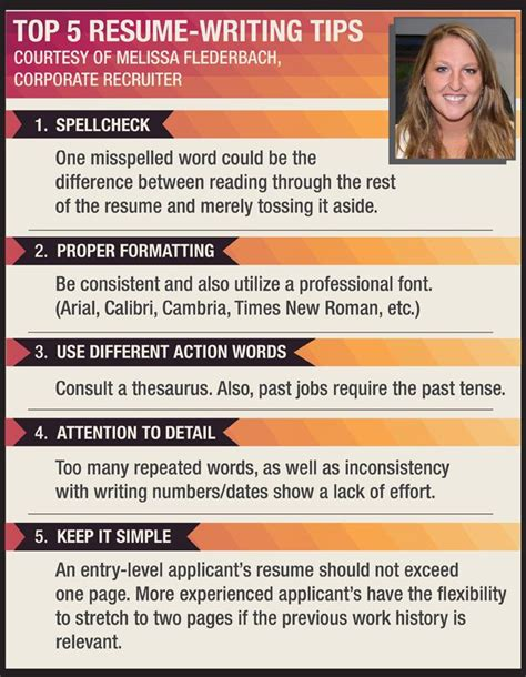 5 resume tips 115 best images about cover letter and resume ready on