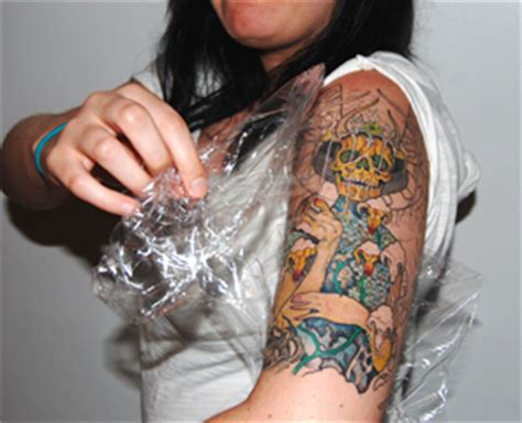 tattoo healing water aftercare salem ink custom tattoo studio