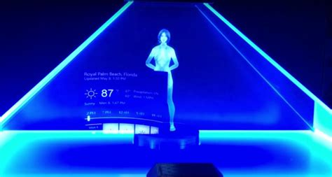 microsoft s cortana assistant becomes three dimensional in