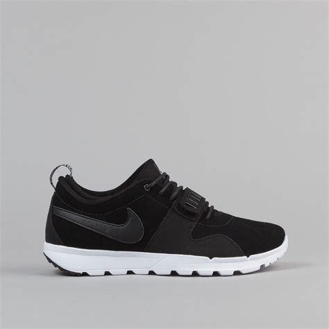 kaos nike sb black 35 nike sb trainerendor l shoes black black white