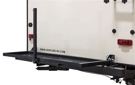 Bike Rack For Back Of Travel Trailer by Sporttrek St312vrk Travel Trailer Venture Rv