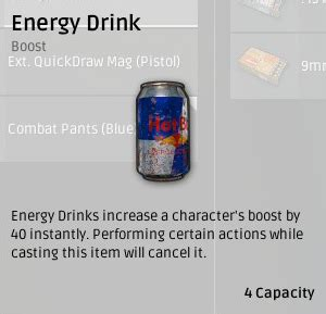 energy drink on pubg playerunknown s battlegrounds medication and boosters