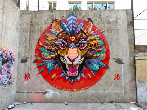 farid rueda unveils   series  murals   streets