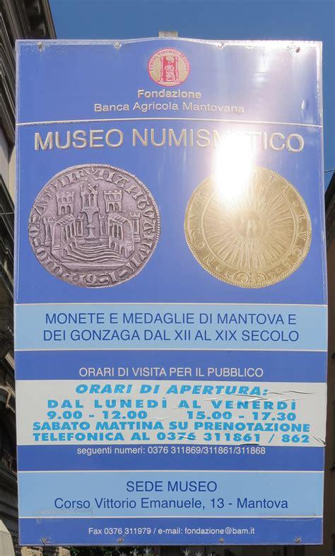fondazione agricola mantovana coin museum of the fondazione agricola mantovana