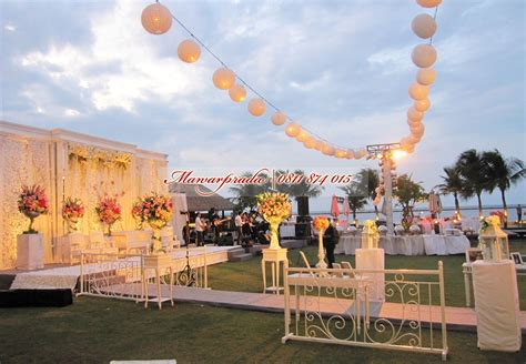 Wedding Organizer Outdoor by Dekorasi Outdoor Mawar Prada Dekorasi Pernikahan
