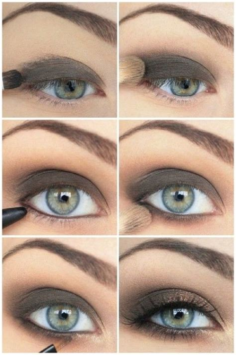 makeup tutorial creating the classic natural eye 25 easy and dramatic smokey eye tutorials this season