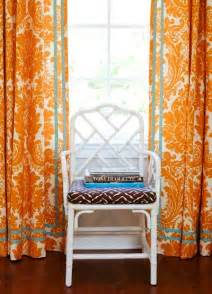 Curtain Color For Orange Walls Inspiration Tangerine The New Color Trend For