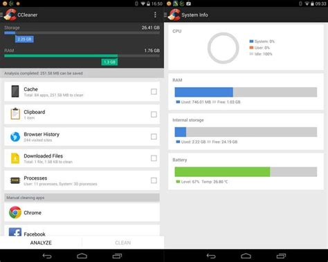 ccleaner yt ccleaner for android 1 19 76 system desktop tools
