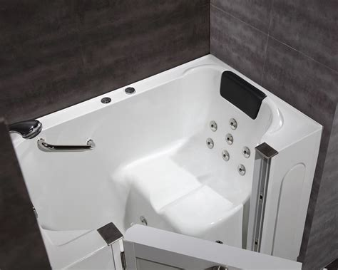 walk in bathtub with jets 55 jetted walk in bath tub platinum bath