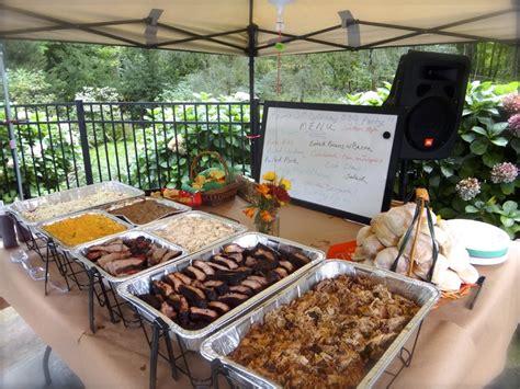 backyard catering farmboys smokin bbq catering darien ct weddingwire