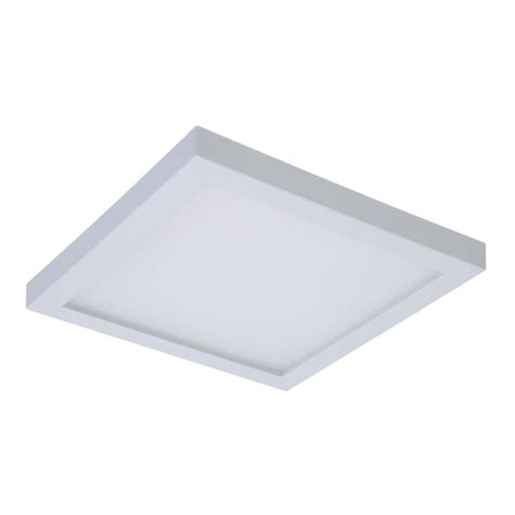 Halo Smd 4 In White Integrated Led Recessed Square Square Recessed Ceiling Light