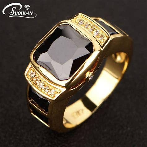 fashion men jewelry black cz diamond men ring