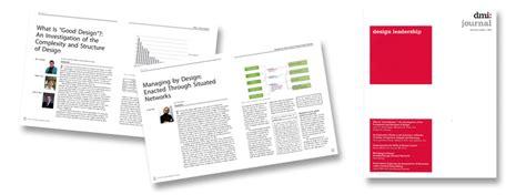 design journal database dmi journal design management institute