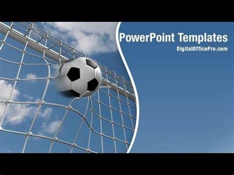 Soccer Goal Powerpoint Template Backgrounds Digitalofficepro 00128w Youtube Free Soccer Powerpoint Template