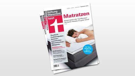 Matratze Stiftung Warentest 2017 by Umgebung Zum Schlafen Das Schlafzimmer