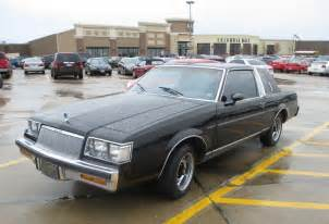 buick regal classic curbside classic 1986 buick regal limited rhapsody in black
