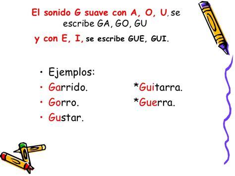 palabras con la letra g g ejemplos de palabras con g uso de g y j
