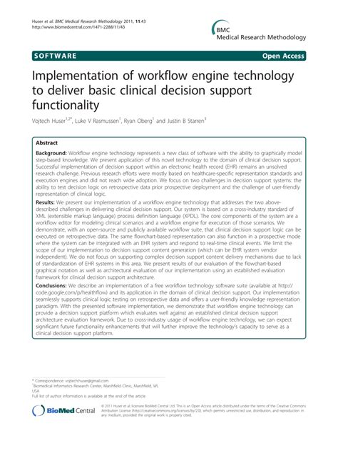 implementation workflow implementation of workflow engine pdf available
