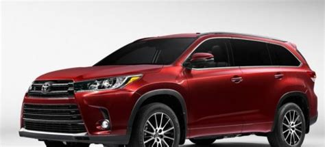 toyota highlander redesign 2017 toyota highlander release date redesign review photos