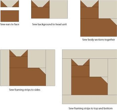 Patchwork Cat Quilt Block Patterns - cat quilt quilt blocks and quilt block patterns on