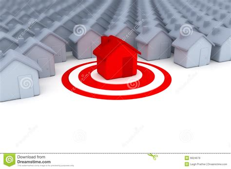 target house target house royalty free stock images image 6624679