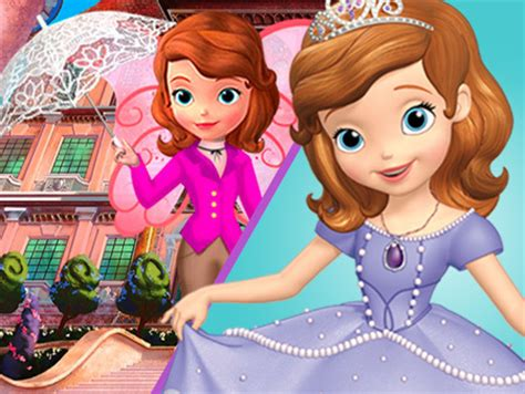 sofa the first games dress for a royal day matching game disney junior