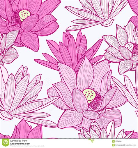 free lotus background pattern lotus flower pattern clipart 74