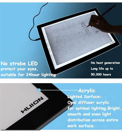 led light box diy china sale diy slim light box led tracing board a3
