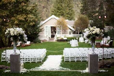 Elegant Backyard Wedding Ceremony Elizabeth Anne Designs The Wedding Blog