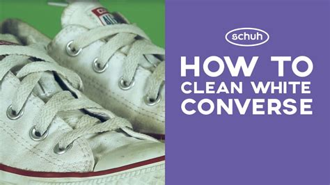 how to clean white converse schuh doovi