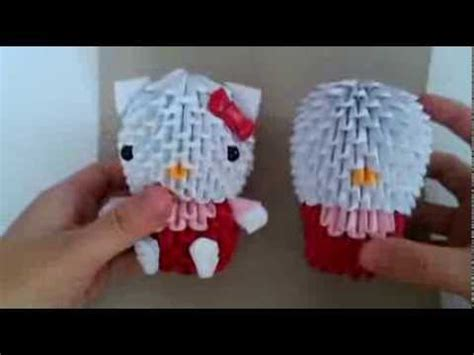 3d Hello Origami - 3d origami hello new version part 3