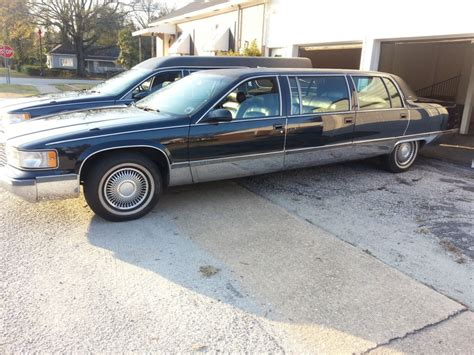 cadillac limo for sale 1996 cadillac fleetwood limousine for sale