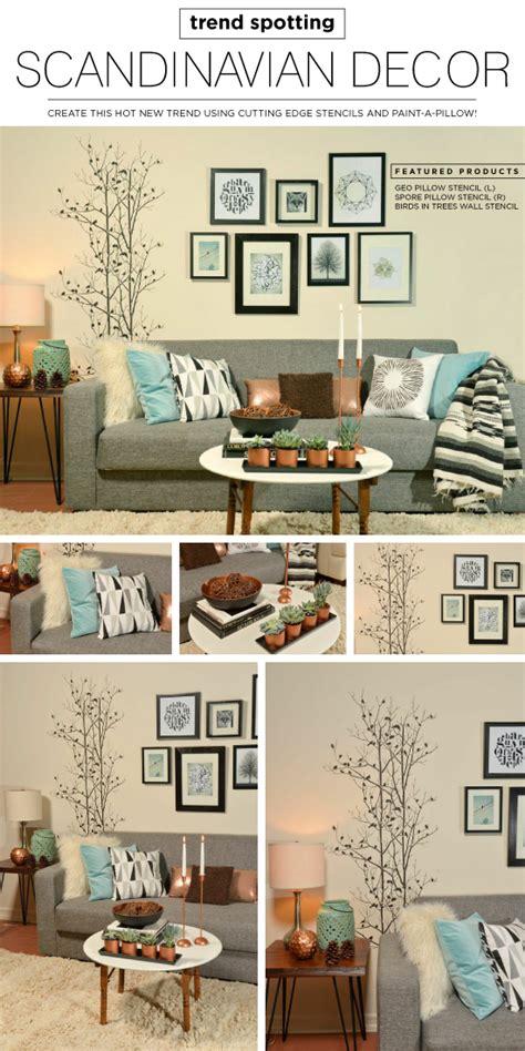 scandinavian home decor blogs trend spotting scandinavian decor stencil stories