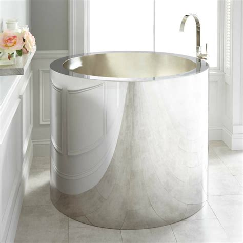 bathtubs small bathtubs idea astonishing small soaker tub 48 quot bathtub