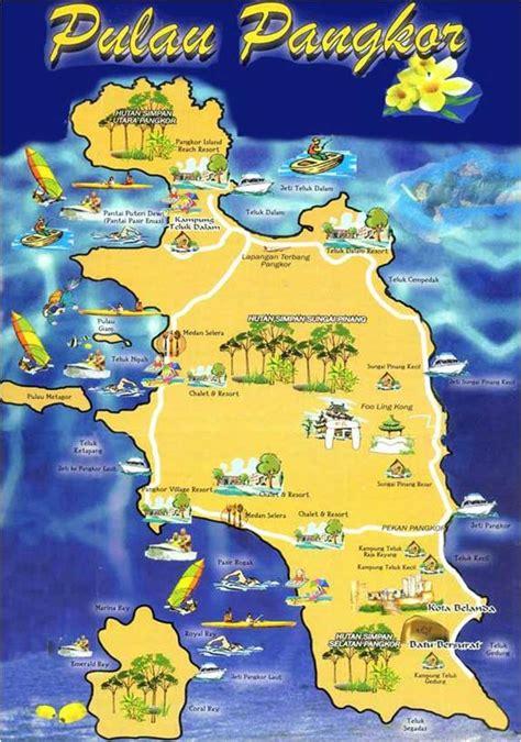 pangkor island resort map tropica nana travel to pulau pangkor