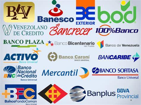 bancos de venezuela pasandodato banca p 250 blica y privada principal de venezuela