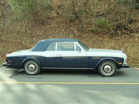 rolls royce corniche price 1980 rolls royce corniche convertible quot excellent condition quot