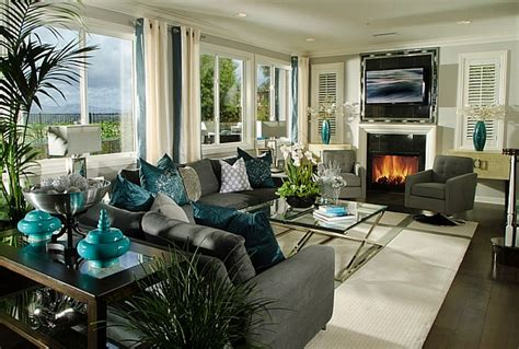 teal livingroom 2018 color trends coral teal eggplant and more