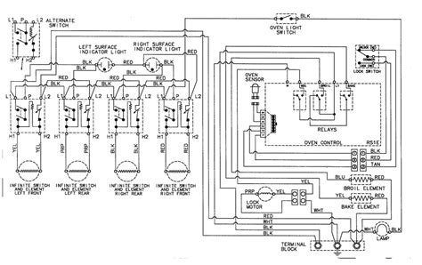 electric range wiring diagram view ge get free image