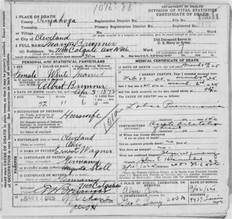 Birth Records Cleveland Ohio Birth Certificate Cleveland Ohio Choice Image Birth