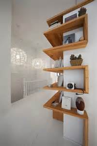 Unusual Shelving by Floating Shelves In Unique Shapes Diy Better Homes