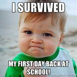 School Picture Meme - first day of school meme google search back to school