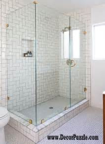 ideas designs bathroom shower small tile big design