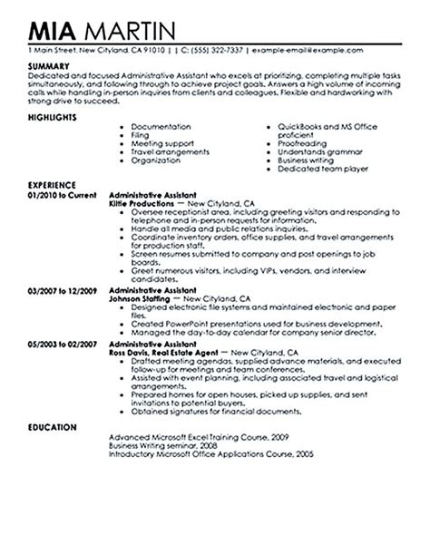 Sle Resume For Career Change To Administrative Assistant 11 best project 2017 career change images on