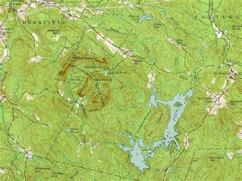 on a topographic map what is used to show elevation different types of maps map geeks